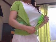 Reiko Yamaguchi Asian madam has nice big tits