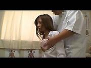 Asian teen fucked by massagist in massage porn video