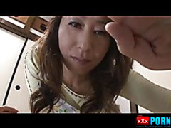Nasty Japanese porn video with sexy mature babes