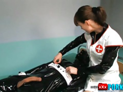 Kinky Clinic - Rubber Nurse Play