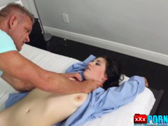 Dad Fucked Young Brunette.