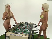 Two busty blond, hot games 1