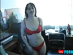 My slut wife. Husband accidentally found the video.