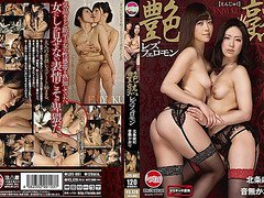 Otonashi Kaori, Houjou Maki in Luster Mature Lesbian Pheromone Maki Hojo Otonashi Kaori