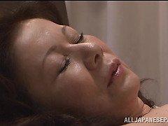 Chizuru Iwasaki hot mature Asian chick is fucked hard