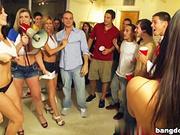 Sara Jay, Jayden Jaymes, Alexis Fawx, Anastasia Morna in BangBros College Invasion
