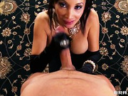 Asian XXX princess Katsuni showing her skills