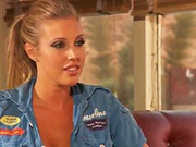 Samantha Saint and her man get busy in a tent in the middle of nowhere